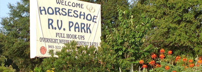 Horseshoe RV Park, Buffalo, Texas